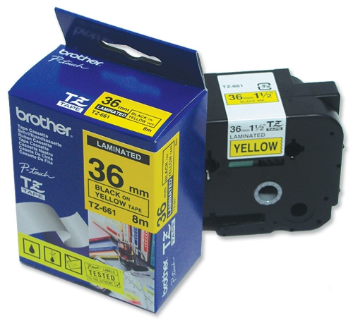 36mm P-Touch Label