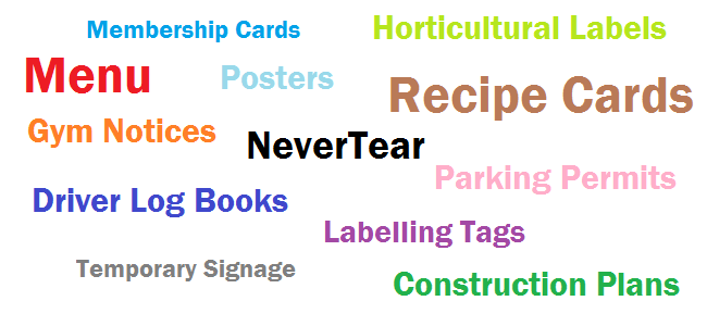 Xerox Never Tear
