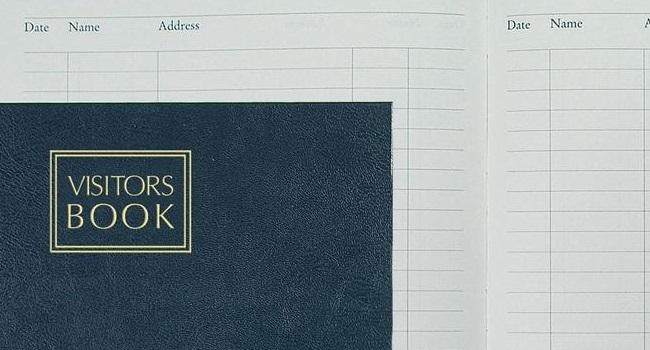 Visitors Book