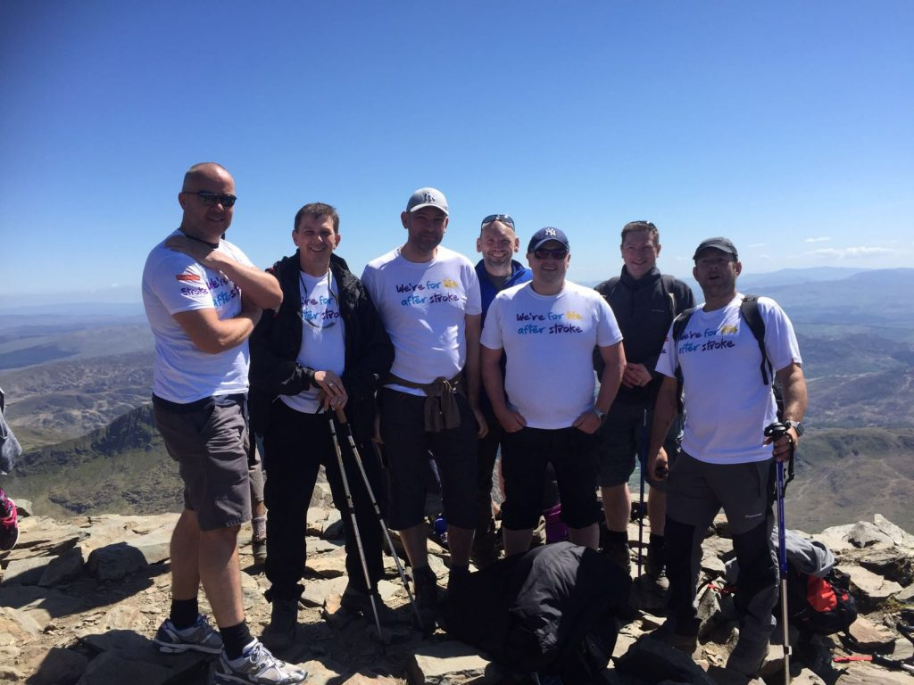 snowdon climb summit