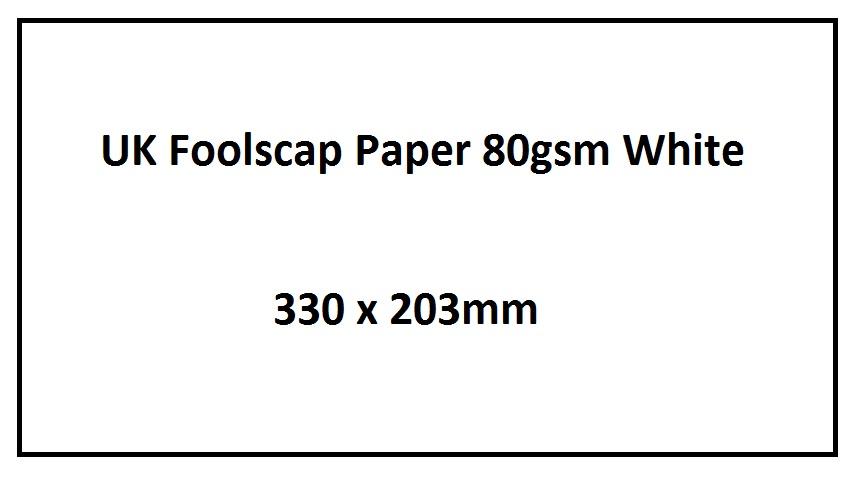 Foolscap Paper