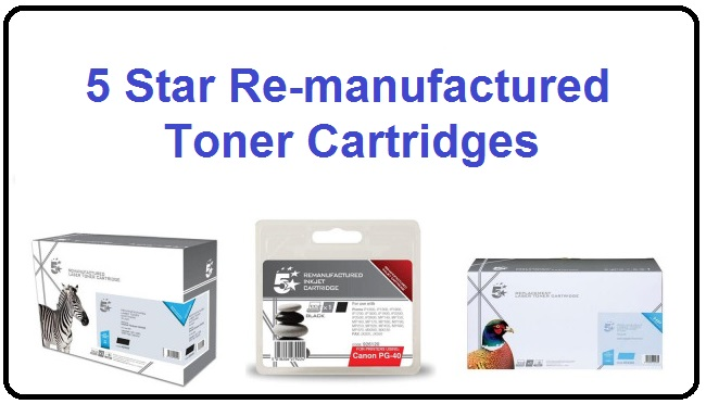 Re-manufactured Toner Cartridges