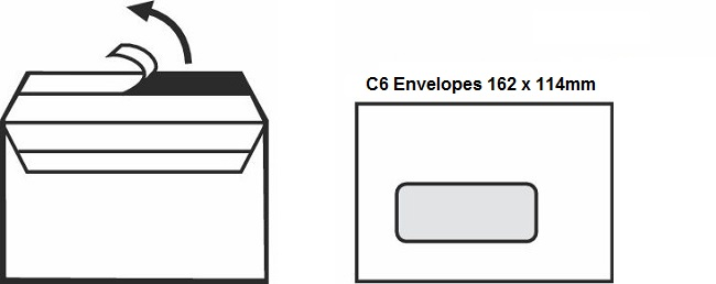 A Guide To Envelope Sizes DL, C6, C5 & C4 1