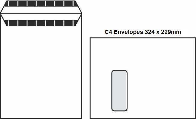 A Guide To Envelope Sizes DL, C6, C5 & C4 3