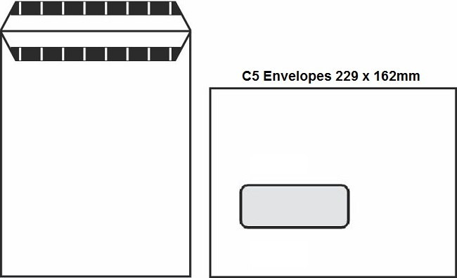 A Guide To Envelope Sizes DL, C6, C5 & C4 2