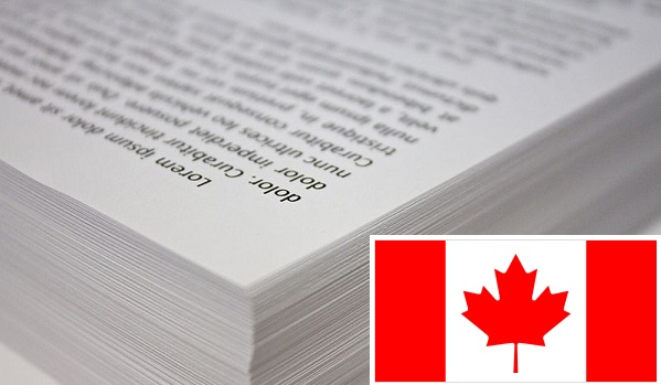 Canadian Size Paper