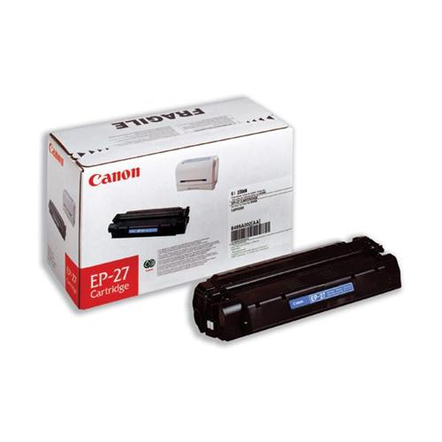 Canon EP-27 Laser Toner Cartridge Page Life 2500pp Black Ref 8489A002 | 002924