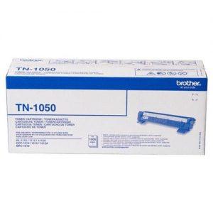Brother HL1110 Laser Toner Cartridge Page Life 1000pp Black Ref TN1050 | 108316