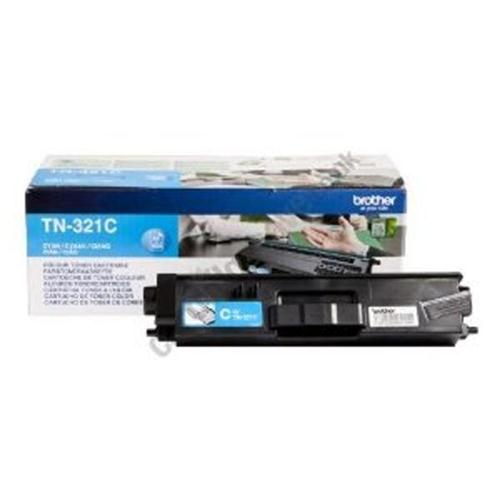 Brother Laser Toner Cartridge Page Life 1500pp Cyan Ref TN321C   112056