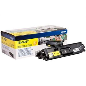 Brother Laser Toner Cartridge High Yield Page Life 3500pp Yellow Ref TN326Y | 112059