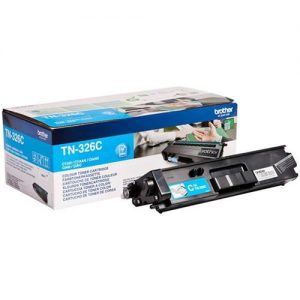 Brother Laser Toner Cartridge High Yield Page Life 3500pp Cyan Ref TN326C | 112062