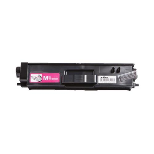 Brother Laser Toner Cartridge Super High Yield Page Life 6000pp Magenta Ref TN900M | 112070