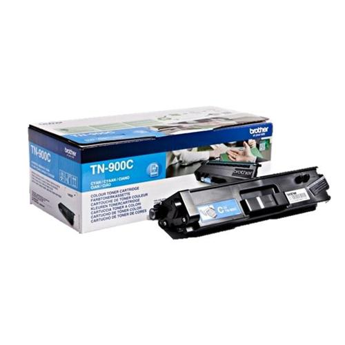 Brother Laser Toner Cartridge Super High Yield Page Life 6000pp Cyan Ref TN900C | 112073