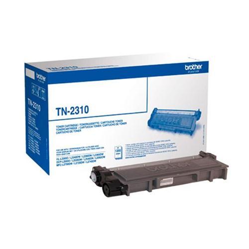 Brother Laser Toner Cartridge Page Life 1200pp Black Ref TN2310   113372