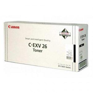 Canon CEXV26 Laser Toner Cartridge Page Life 6000pp Black Ref IR1021BTONER | 123503