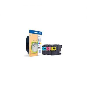 Brother Inkjet Cartridge Page Life 1200pp C/M/Y Ref LC125XLRBWBP [Pack 3] | 128968