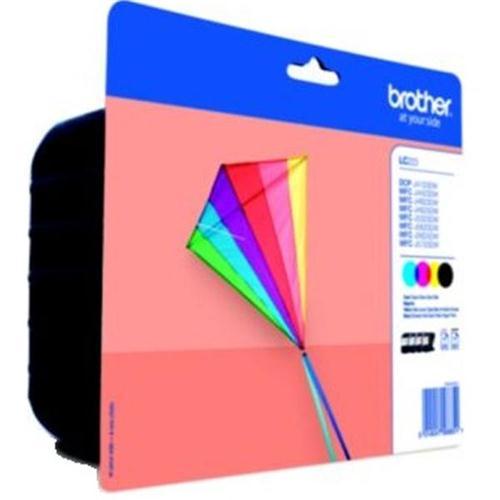 Brother Inkjet Cartridge Page Life 550pp C/M/Y/K Ref LC223VALBP [Pack 4] | 128969
