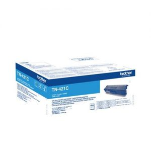 Brother TN421C Toner Cartridge Page Life 1800pp Cyan Ref TN421C | 140592