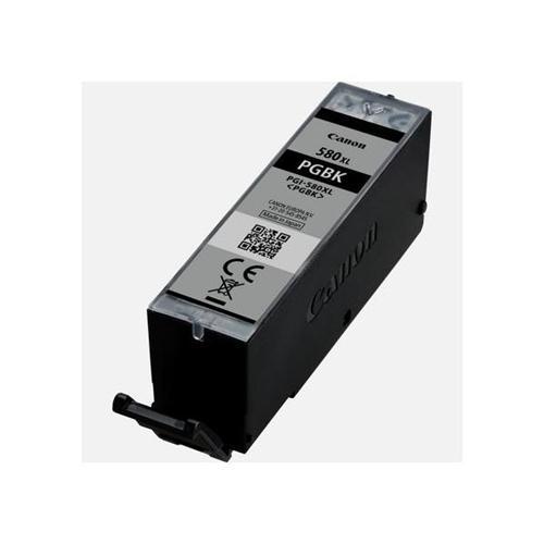 Canon PGI-580XL Inkjet Cartridge High Capacity Page Life 400pp Black Ref 2024C001   142729