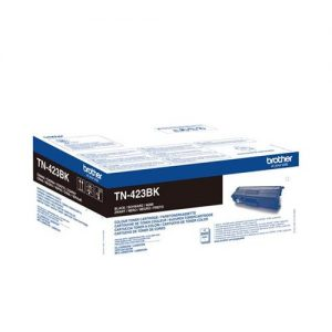 Brother TN423BK Toner Cartridge High Yield Page Life 6500pp Black Ref TN423BK | 143985