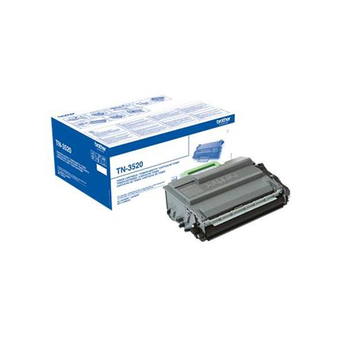 Brother TN3520 Laser Toner Cartridge Ultra High Yield Page Life 12000pp Black Ref TN3520   146225
