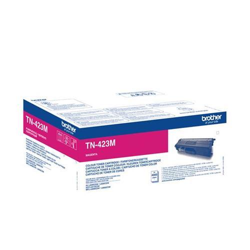 Brother TN423M Toner Cartridge High Yield Page Life 4000pp Magenta Ref TN423M | 146469