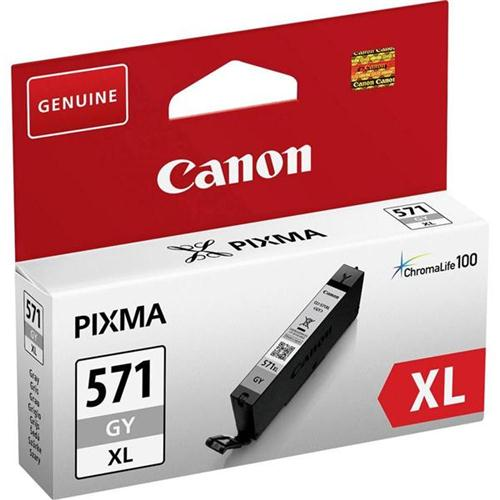 Canon CLI-571XL Inkjet Cartridge Page Life 650pp Grey 0335C001   149960