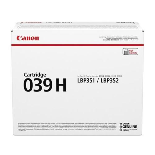 Canon CRG 039H Laser Toner Cartridge High Yield Black Ref 0288C001 | 159758