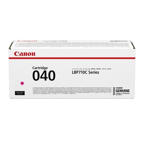 Canon 040 Laser Toner Cartridge Page Life 5400pp Magenta Ref 0456C001   163024