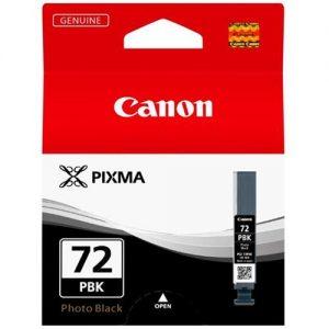 Canon PGI-72 Inkjet Cartridge Page Life 1640pp Photo Black Ref 6403B001 | 166620