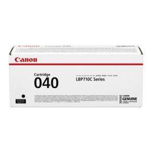 Canon 040 Laser Toner Cartridge Page Life 6300pp Black Ref 0460C001 | 167671