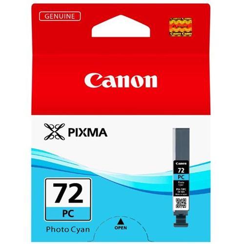 Canon PGI-72 Inkjet Cartridge Page Life 351pp Photo Cyan Ref 6407B001   167775
