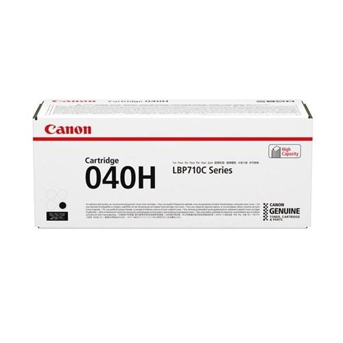 Canon 040H Laser Toner Cartridge High Yield Page Life 12500pp Black Ref 0461C001   168748