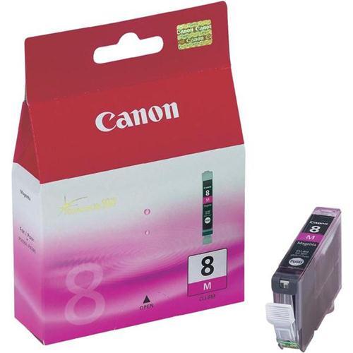Canon CLI-8M Inkjet Cartridge Magenta Ref 0622B001   208540