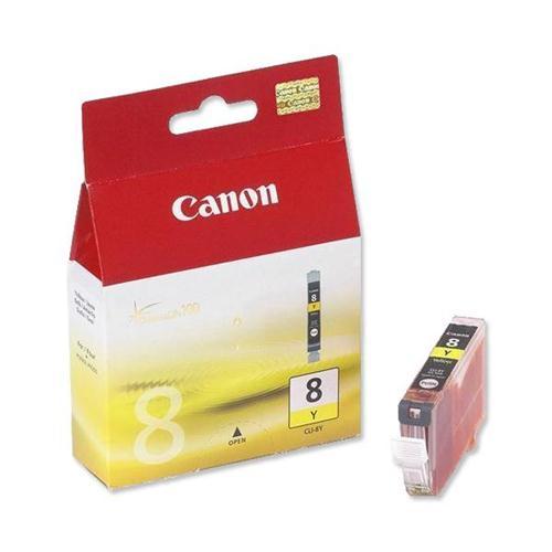 Canon CLI-8Y Inkjet Cartridge Yellow Ref 0623B001   208558