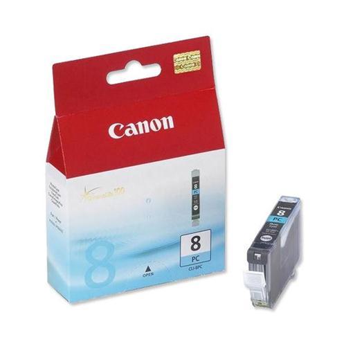 Canon CLI-8PC Inkjet Cartridge Page Life 7485pp Photo Cyan Ref 0624B001   208574