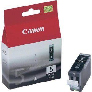 Canon PGI-5BK Inkjet Cartridge Black Ref 0628B001   208621