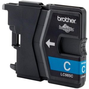 Brother Inkjet Cartridge Page Life 260pp Cyan Ref LC985C | 216178