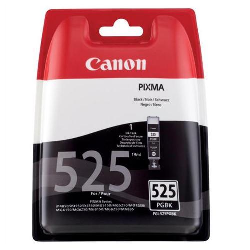 Canon PGI-525 Inkjet Cartridge Page Life 323pp Black Ref 4529B001   223836