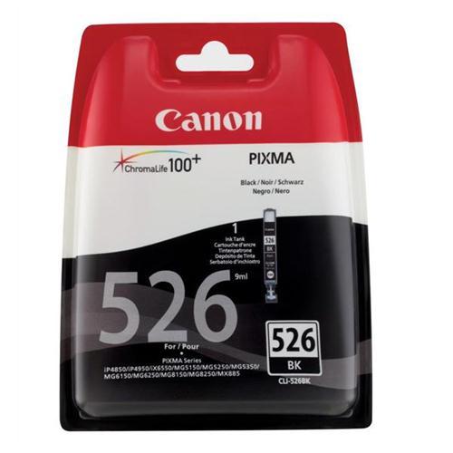 Canon CLI-526BK Inkjet Cartridge Page Life 2185pp Black Ref 4540B001   223878