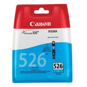 Canon CLI-526C Inkjet Cartridge Page Life 500pp Cyan Ref 4541B001 | 223885