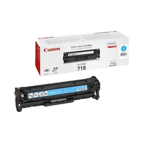 Canon CRG-718C Laser Toner Cartridge Page Life 2900pp Cyan Ref 2661B002   226871