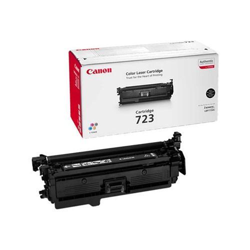 Canon 723BK Laser Toner Cartridge Page Life 5000pp Black Ref 2644B002 | 237993
