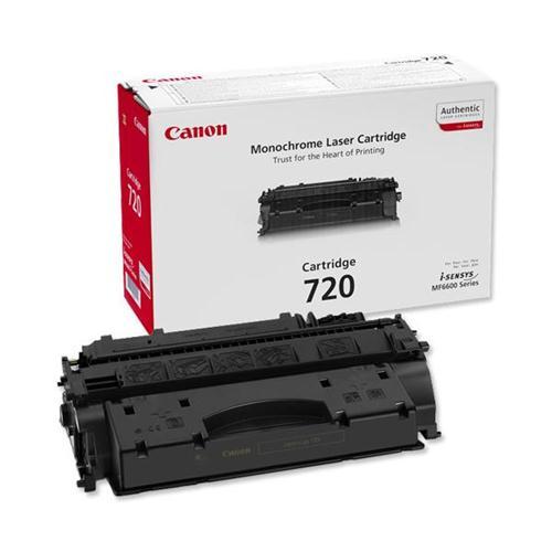 Canon 720 Laser Toner Cartridge Page Life 5000pp Black Ref 2617B002 | 238015