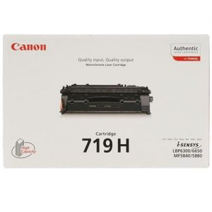Canon CRG-719H Laser Toner Cartridge High Yield Page Life 6400pp Black Ref 348B002 | 249201