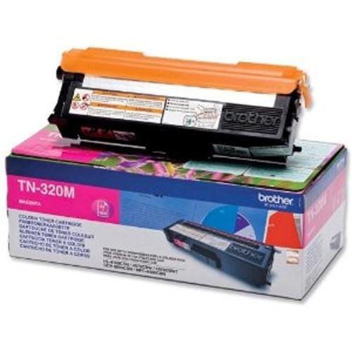 Brother Laser Toner Cartridge Page Life 1500pp Magenta Ref TN320M   256252