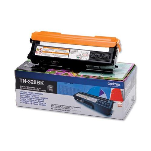 Brother Laser Toner Cartridge Page Life 6000pp Black Ref TN328BK   259911