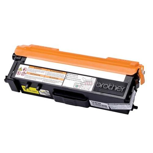 Brother Laser Toner Cartridge Page Life 6000pp Yellow Ref TN328Y   259944