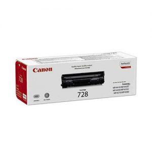 Canon CRG-728 Laser Toner Cartridge Page Life 2100pp Black Ref 3500B002 | 347351
