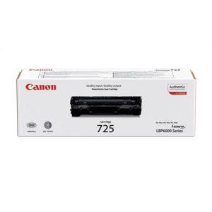 Canon CRG-725 Laser Toner Cartridge Page Life 1600pp Black Ref 3484B002 | 347424